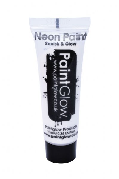 PaintGlow UV Face & Body Paint - Neon White